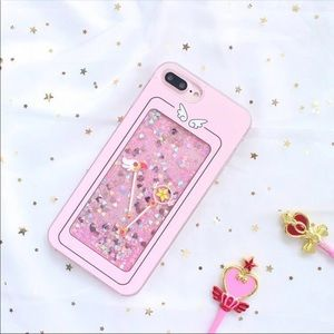 Accessories - Glitter Sailor Moon Iphone Case